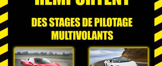 Gagnez des stages de pilotage sur circuit !