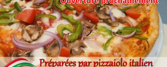 Nouvel espace pizzeria
