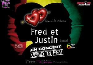 Concert st valentin vendredi 14 fevrier 21h30 0h00