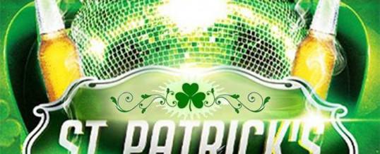 Soirée St-Patrick – Samedi 15 Mars