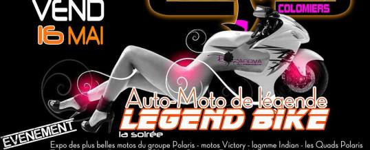 Evenement AUTO-MOTO de légende – Vendredi 16 Mai