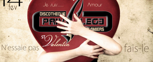 Saint-Valentin – Samedi 14 Fevrier
