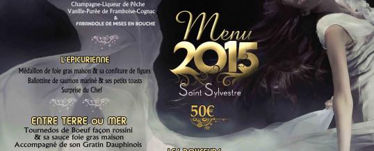 Menu Saint-Sylvestre 2015