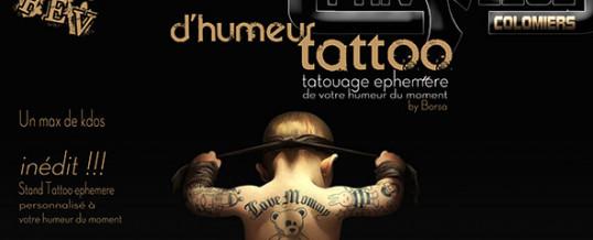 Soirée d'humeur Tattoo – Samedi 27 Fevrier