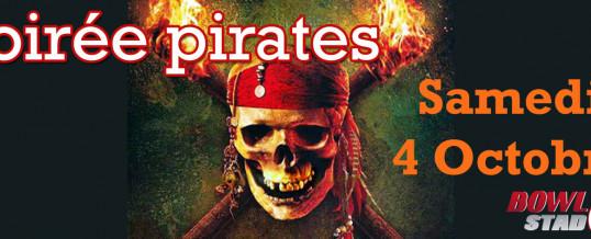 Soirée Pirate – Samedi 4 Octobre