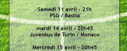 Les matches à ne pas manquer en Avril